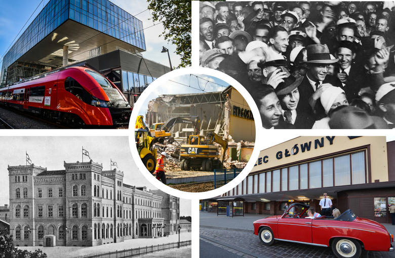 Bydgoszcz Główna - dawniej i dziś [zdjęcia]