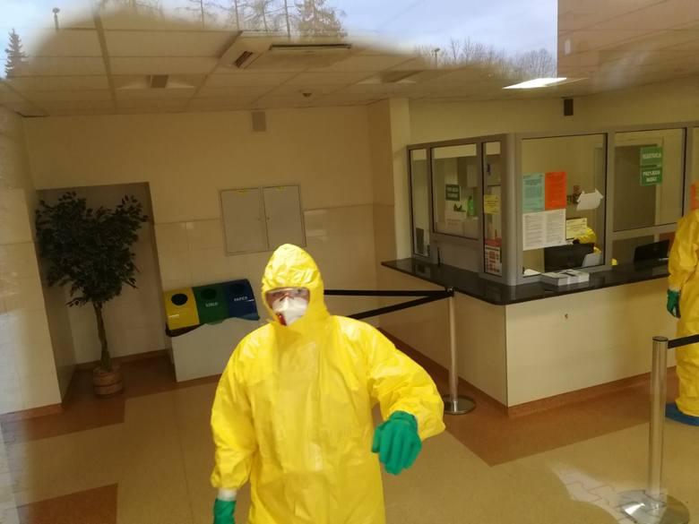 Nowy Sącz. W szpitalu pojawił się pacjent z podejrzeniem koronawirusa. SOR nieczynny [AKTUALIZACJA]