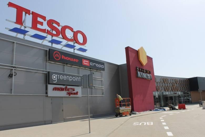 Galeria Miodowa przed otwarciem- Centrum handlowe ma powierzchnię ponad 12 tysięcy metrów kwadratowych, składa się z pasażu handlowego oraz z parku handlowego