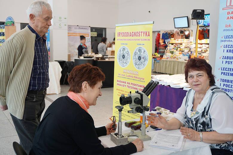Seniorzy skorzystają z porad dotyczących zdrowia.