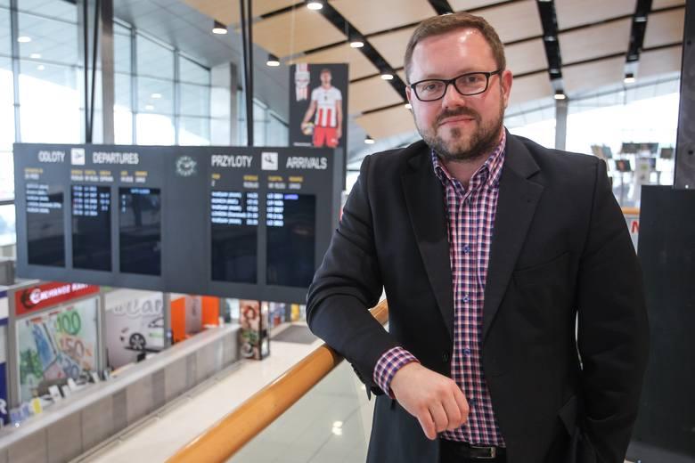 Michał Tabisz, prezes lotniska Rzeszów-Jasionka: Naszym celem jest milion pasażerów