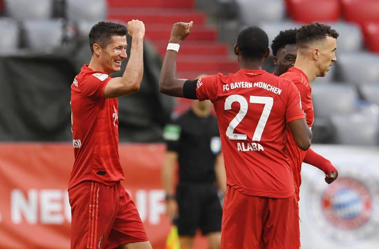 Bayern Monachium - Eintracht Frankfurt 5:2