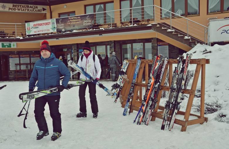 Góra Kamieńsk już otwarta dla narciarzy [ZDJĘCIA]