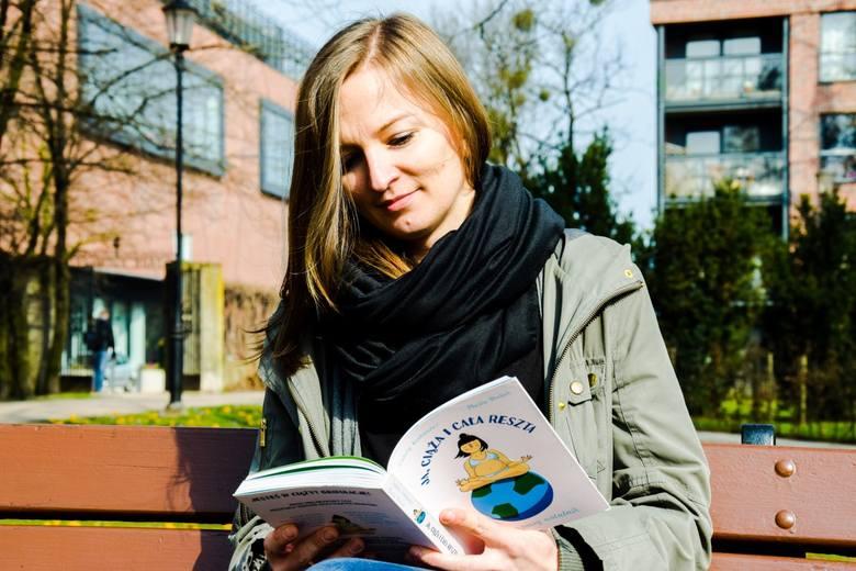 """""""Ja, ciąża i cała reszta"""" - o jedynym w swoim rodzaju ciążowym notatniku opowiada autorka, Marta Drelich"""