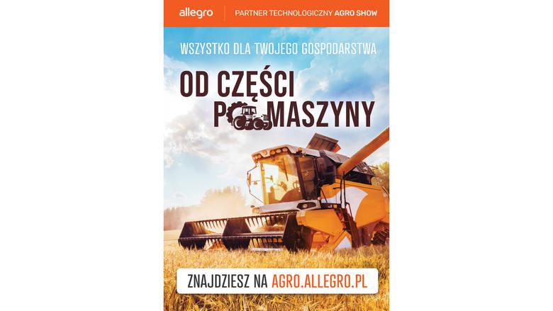 AGRO SHOW 2019 z Allegro jako partnerem technologicznym. Zbliżają się największe targi w Polsce