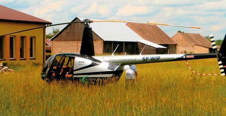 Firma Windprojekt zaprzecza, jakoby wysyłała do gminy helikopter. Tyle, że tej jakoby nieistniejącej maszynie zrobili zdjęcie mieszkańcy.