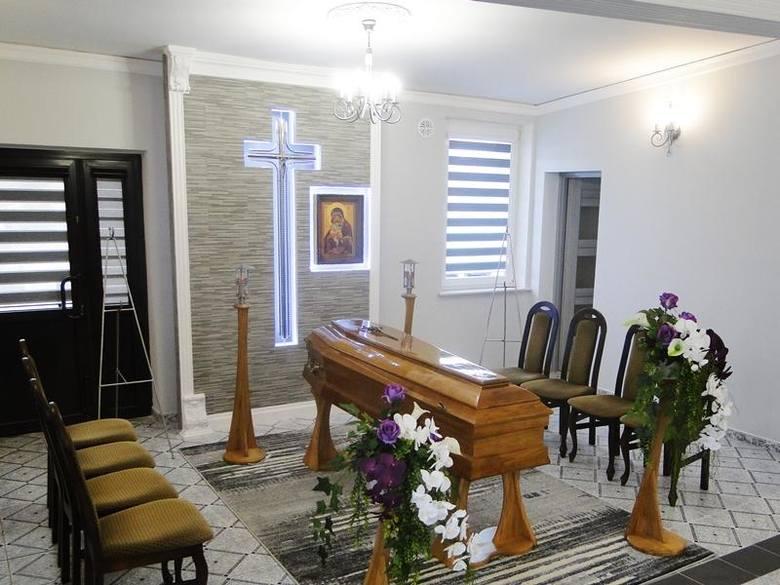 Przedsiębiorstwo Komunalne w Bielsku Podlaskim przeprowadziło inwestycję polegającą na remoncie domu pogrzebowego przy ul. Kazimierzowskiej 3A.