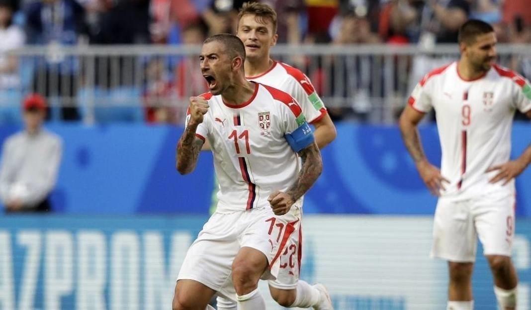 serbia szwajcaria 1 2 bramki gole skr 243 t meczu