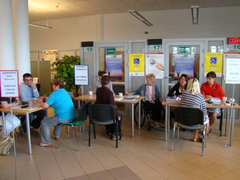 Dzień Otwarty Osób z Niepełnosprawnością w ZUS-ie w Kielcach