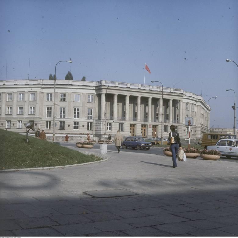 Dawny Dom Partii. Dziś Uniwersytet w Białymstoku