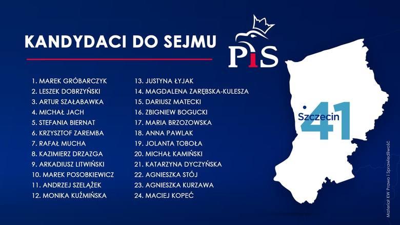 Kandydaci PiS ze Szczecina - wybory 2019. Partia rządząca rozpoczyna kampanię wyborczą [ZDJĘCIA]