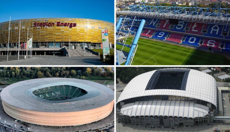 Stadiony w Ekstraklasie