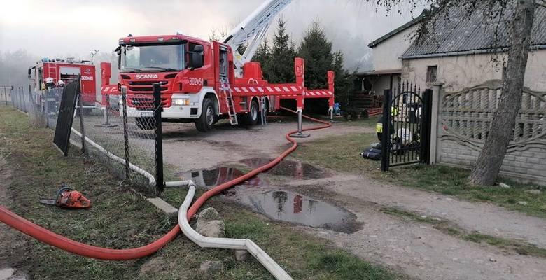 Przyczyną pożaru w Otowicach było prawdopodobnie zwarcie instalacji elektrycznej