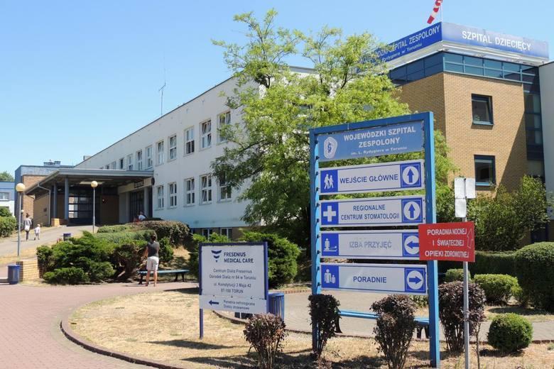 W Szpitalu Dziecięcym w Toruniu u jednego z pacjentów wykryto koronawirusa. Co z personelem medycznym?