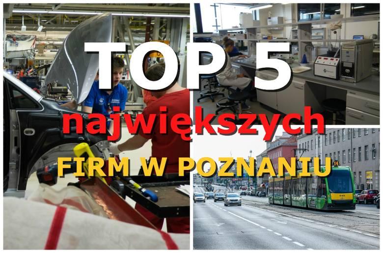 Ci pracodawcy w stolicy Wielkopolski zatrudniają najwięcej pracowników. U największego z nich pracuje 8,5 tys. osób! Zobacz TOP 5 największych firm w