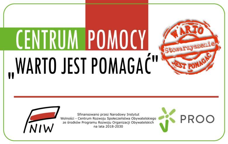 """Zapraszamy do naszego nowego Centrum Pomocy """"Warto jest pomagać"""" przy ul. Dąbrowskiego 35 w Zielonej Górze."""