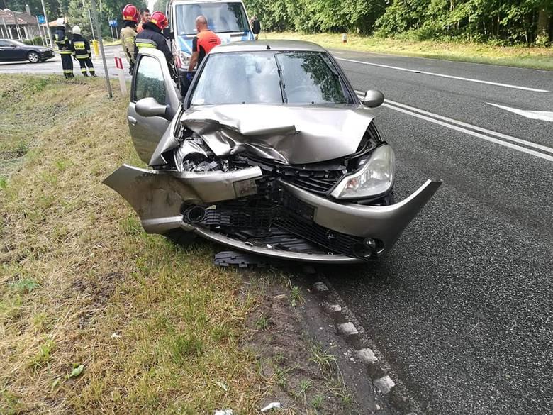 Dziś (13 czerwca) przed godz. 8.00 doszło do wypadku w Tryszczynie na Drodze Krajowej nr 25. Do zdarzenia doszło przed godz. 7.00 na wysokości restauracji