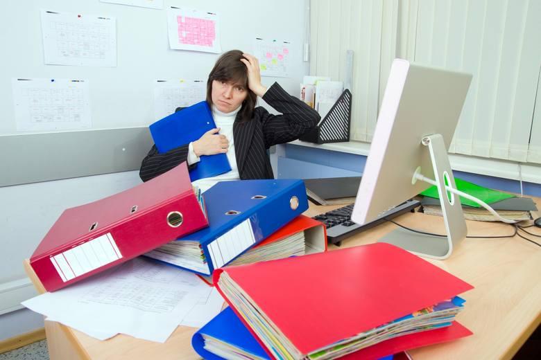 Choćbyśmy bardzo tego pragnęli, stresu w pracy nie da się uniknąć.