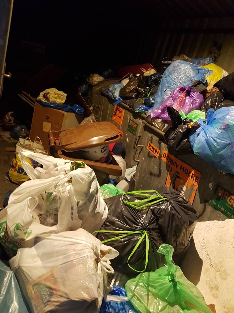 - Pergola przy ulicy Zabłocie we wtorek wieczorem była tak przepełniona, że nie mogliśmy wejść do środka, aby wyrzucić śmieci - pisze w mailu do redakcji pani Patrycja.
