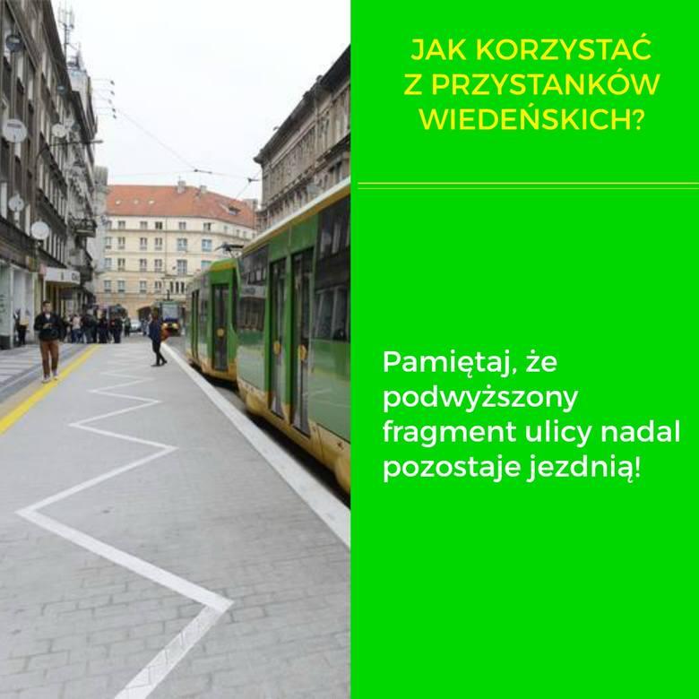 Mimo że przystanki wiedeńskie funkcjonują w Poznaniu już ponad 2 lata, wielu pasażerów nadal nie wie, jak z nich korzystać. Zagubieni czują się również