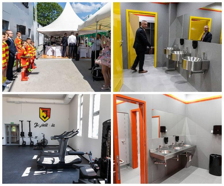 We wtorek dokonano uroczystego otwarcia ośrodka treningowego Jagiellonii przy ulicy Elewatorskiej. Drużyna już w poniedziałek rozpocznie tam przygotowania