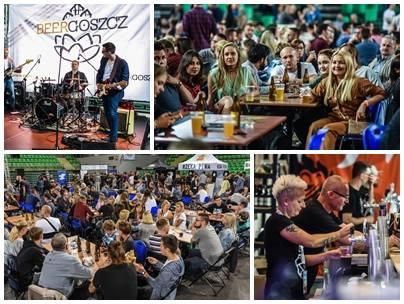 """W hali """"Łuczniczka"""" przy ul. Toruńskiej w Bydgoszczy trwa festiwal piwa Beergoszcz. Miłośnicy złocistego trunku mają okazję posmakować"""