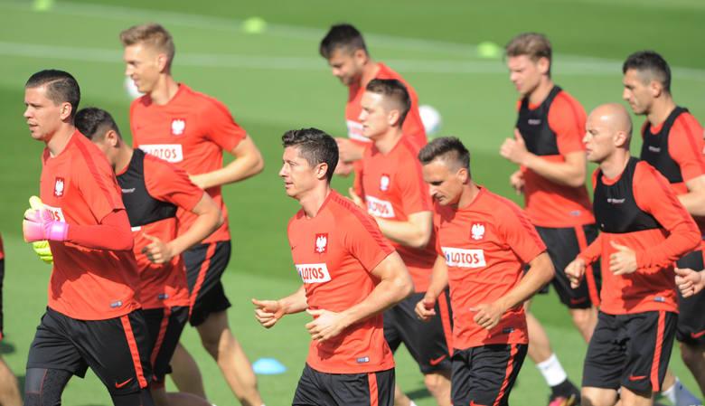 Drugi trening reprezentacji Polski w La Baule