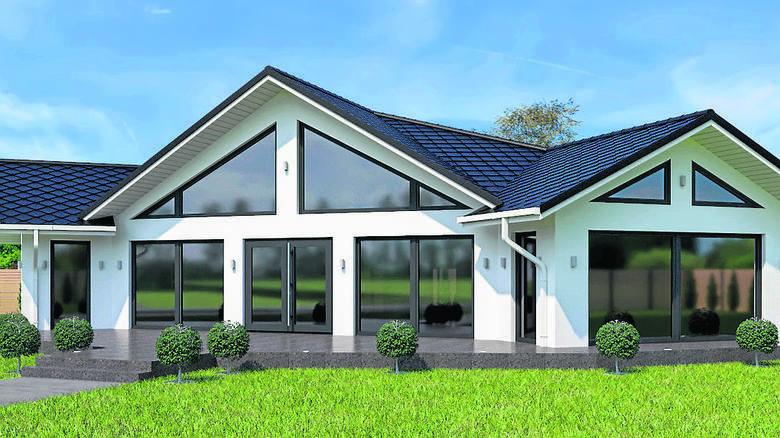 Dom hybrydowy firma Maj-Haus z Rzepina opracowała w oparciu najnowsze na rynku rozwiązania. To budynek ekologiczny, do jego budowy wykorzystuje się jak
