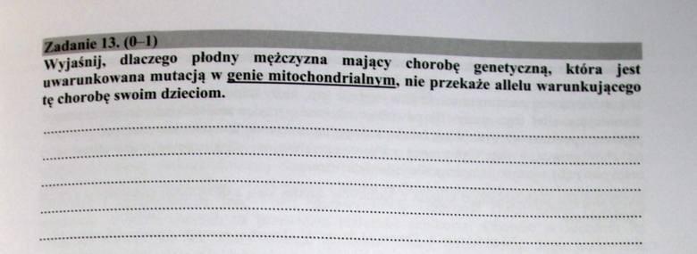 Matura 2017 [BIOLOGIA ROZSZERZENIE] ODPOWIEDZI i ARKUSZ CKE w serwisie EDUKACJA