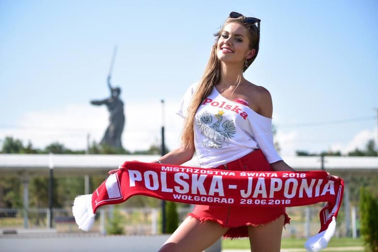 W ostatnim meczu na mundialu, którym przeciwnikiem Polaków będzie Japonia, biało-czerwonych wspierać będzie z trybun modelka Agnieszka Boryń. Ma szansę