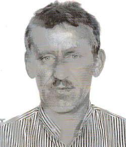 Krzysztof Jaworski Urodzony 19.05.1967 r. w Czaplinku, zamieszkały w Byszkowie gm. Czaplinek.Mężczyzna zaginął w 22.08.2014 r. na terenie miejscowości