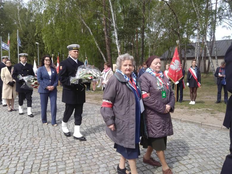 Uroczystości rocznicowe w Muzeum Stutthof - 74 rocznica oswobodzenia obozu koncentracyjnego, 9 maja 2019