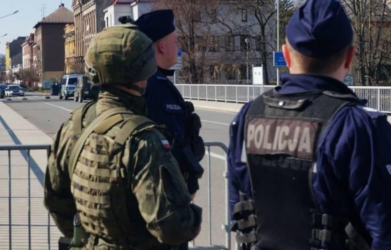 Kontrola na granicy pomiędzy Polską a Czechami