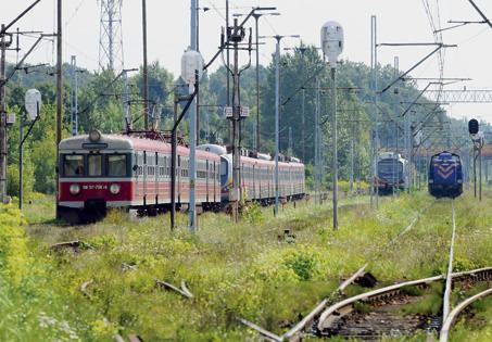 Pociągi Przewozów Regionalnych wczoraj stały na bocznicach.