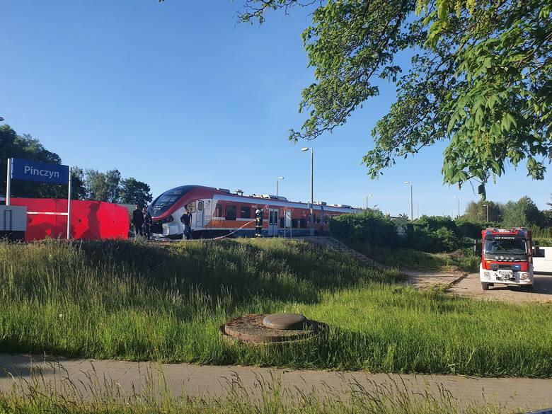 Śmiertelne potrącenie 17-latki przez pociąg w Pinczynie 1.06.2020