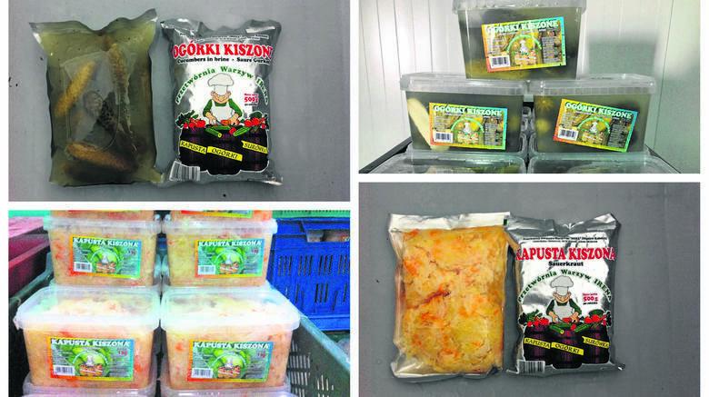 """Rodzinna przetwórnia warzyw """"Irena"""" specjalizuje się w produkcji kiszonych ogórków i kapusty według własnej receptury. Obecnie jest jedną z większych"""