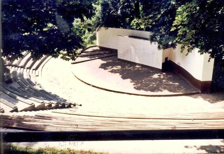Krośnieński amfiteatr z czasów swojej świetności. Wyglądał imponująco.
