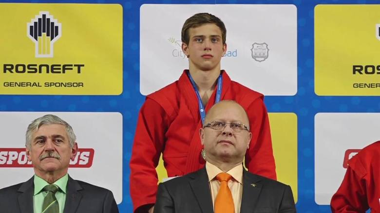 Sambo. Uczeń MSMS - Sergiusz Niebotow - został mistrzem świata!