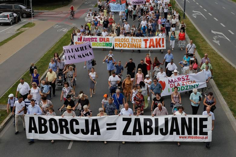 Marsz dla Życia i Rodziny w Rzeszowie.