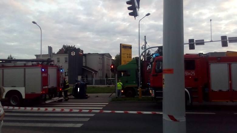 Wypadek w Żorach: Dwie nastolatki zostały ciężko ranne