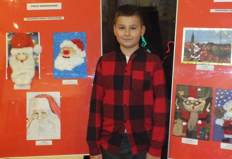Przygotowanie portretu św. Mikołaja było zadaniem uczestników ogólnopolskiego konkursu plastycznego ogłoszonego przez Wąbrzeski Dom Kultury. - Wpłynęło