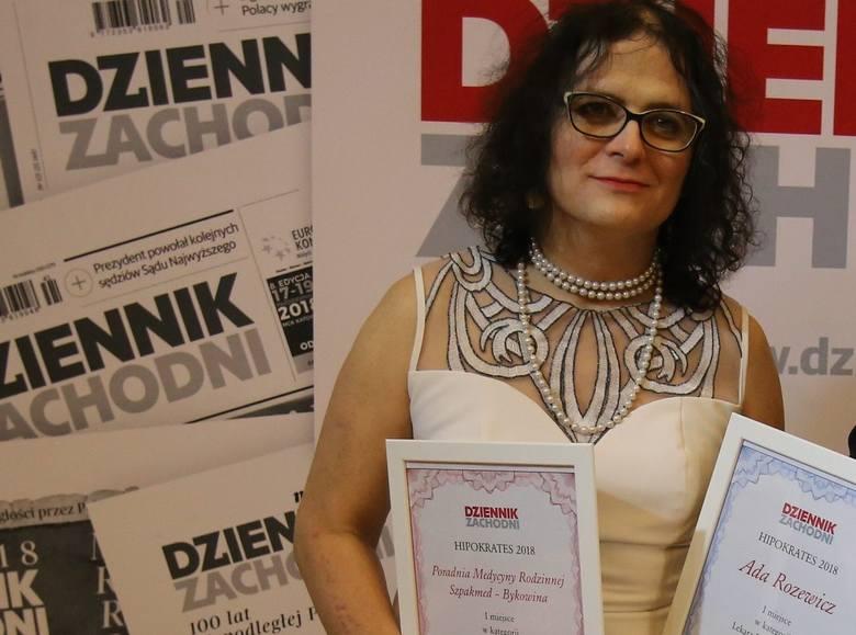 Ada Rozewicz zdobyła tytuł Lekarza Rodzinnego Roku w Rudzie Śląskiej w plebiscycie Hipokrates 2019.Zobacz kolejne zdjęcia. Przesuwaj zdjęcia w prawo