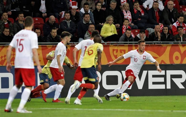 Polska - Kolumbia 0:2