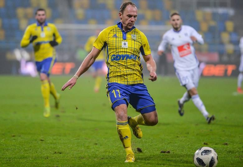 Rafał Siemaszko, piłkarz Arki Gdynia