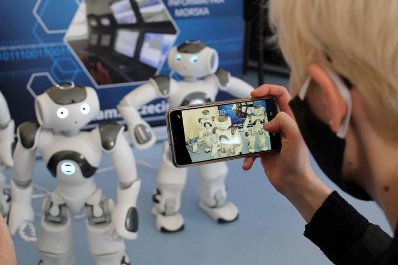 Roboty przejęły laboratorium Akademii Morskiej w Szczecinie. Zobacz zdjęcia!
