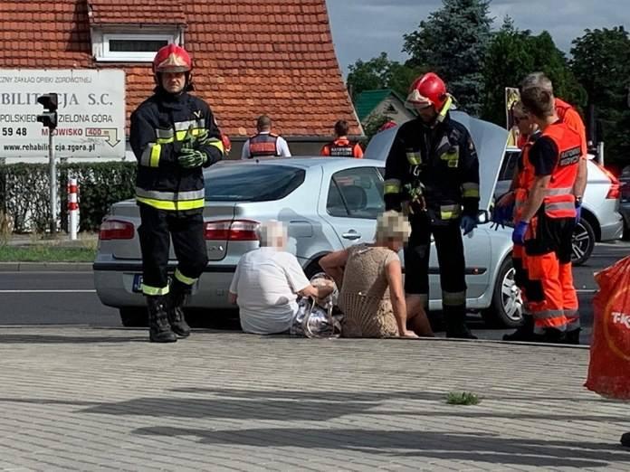 Do wypadku doszło we wtorek, 23 lipca, na skrzyżowaniu ulic Zacisze, Wojska Polskiego i Wyszyńskiego. Dwie osoby zostały ranne. Zobacz nagranie z wypadku:Zdarzenie