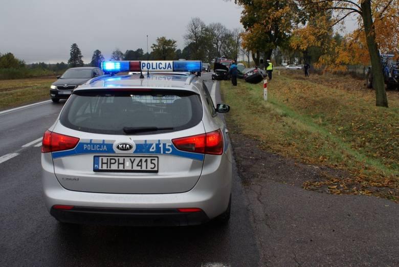 Wypadek na DK 61. Zginęła mieszkanka powiatu makowskiego