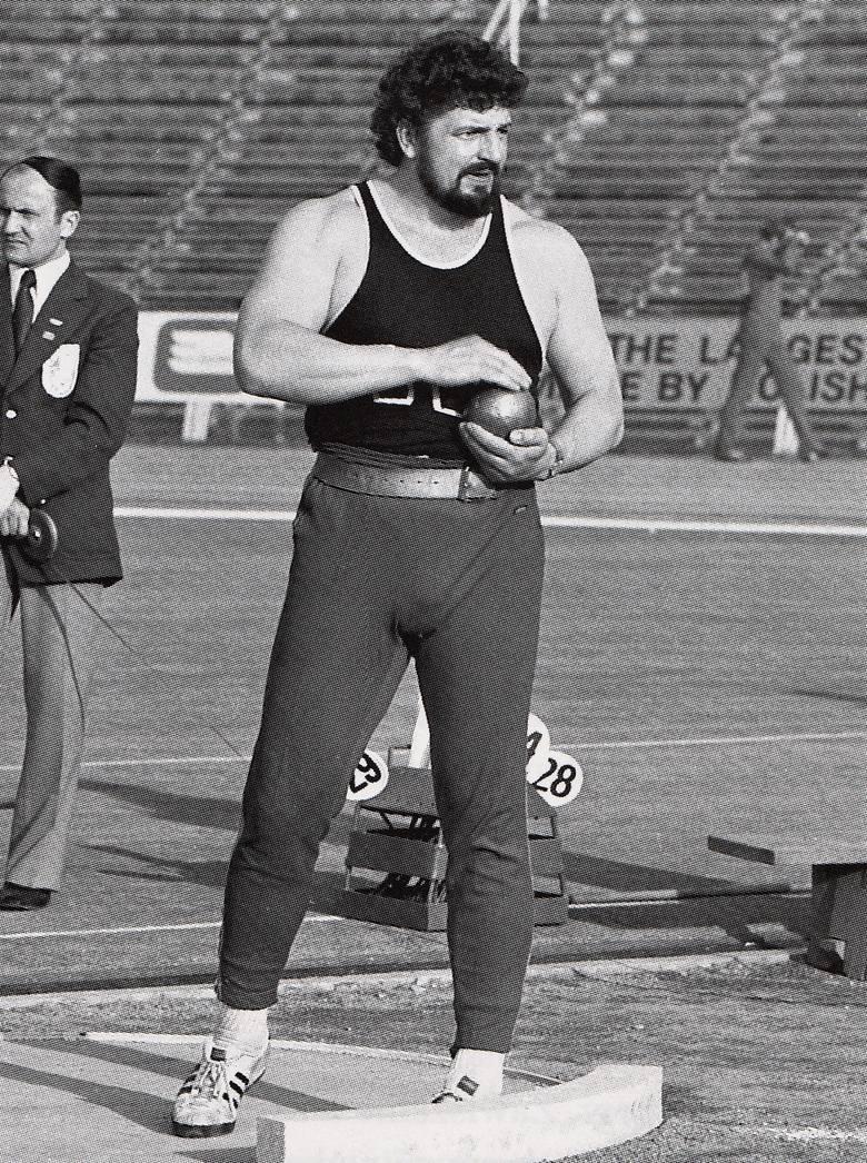 Władysław Komar na Zawiszy występował w glorii mistrza IO 1972.