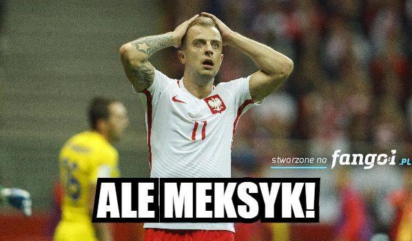 Memy po meczu Polska - Meksyk. Ale Meksyk, tabasco i brak Lewego. Zobacz memy po Polska - Meksyk