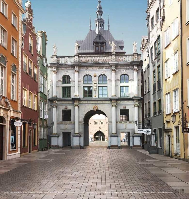 """Przebudowa Drogi Królewskiej w Gdańsku. Tak za kilka lat ma wyglądać odnowiony """"Salon Gdańska"""""""